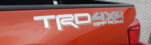 TRD 4X4 OFF ROAD STRIPE (GRAY/SILVER) RR BODY RH or LH