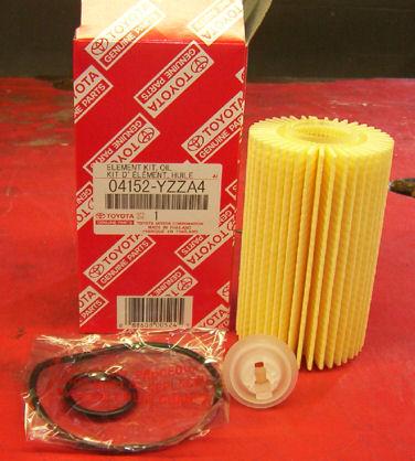 Genuine Toyota Cartridge Oil Filter FREE SHIPPING!