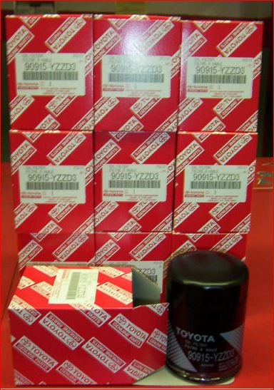 Genuine Toyota Oil Filter Case 10 FREE SHIPPING!