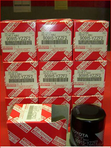 Genuine Toyota Oil Filter Case of 10 FREE SHIPPING