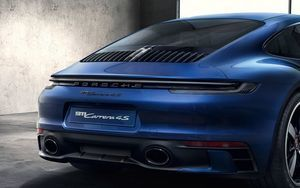 Exclusive Design Clear Tail Light Set - 992 Turbo / Turbo S / w/ Aerokit - Porsche (992-044-913)