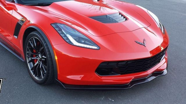 2014 17 Front Spoiler Stage 2 3 Splitter Corvette C7 Carbon Flash Trunk Monkey Parts