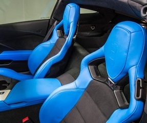 Corvette C7 GM Competition Seat-Back Conversion (both seats)