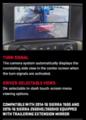 2014-2016 Sierra Silverado Side Towing Mirror Trailering Camera NEW - GM (19353504)