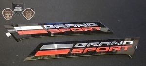 Grand Sport Fender Vent Emblem Pair - GM (GS-PAIR)