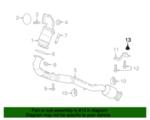 GM OEM Exhaust-Muffler /& Pipe Nut 11102751