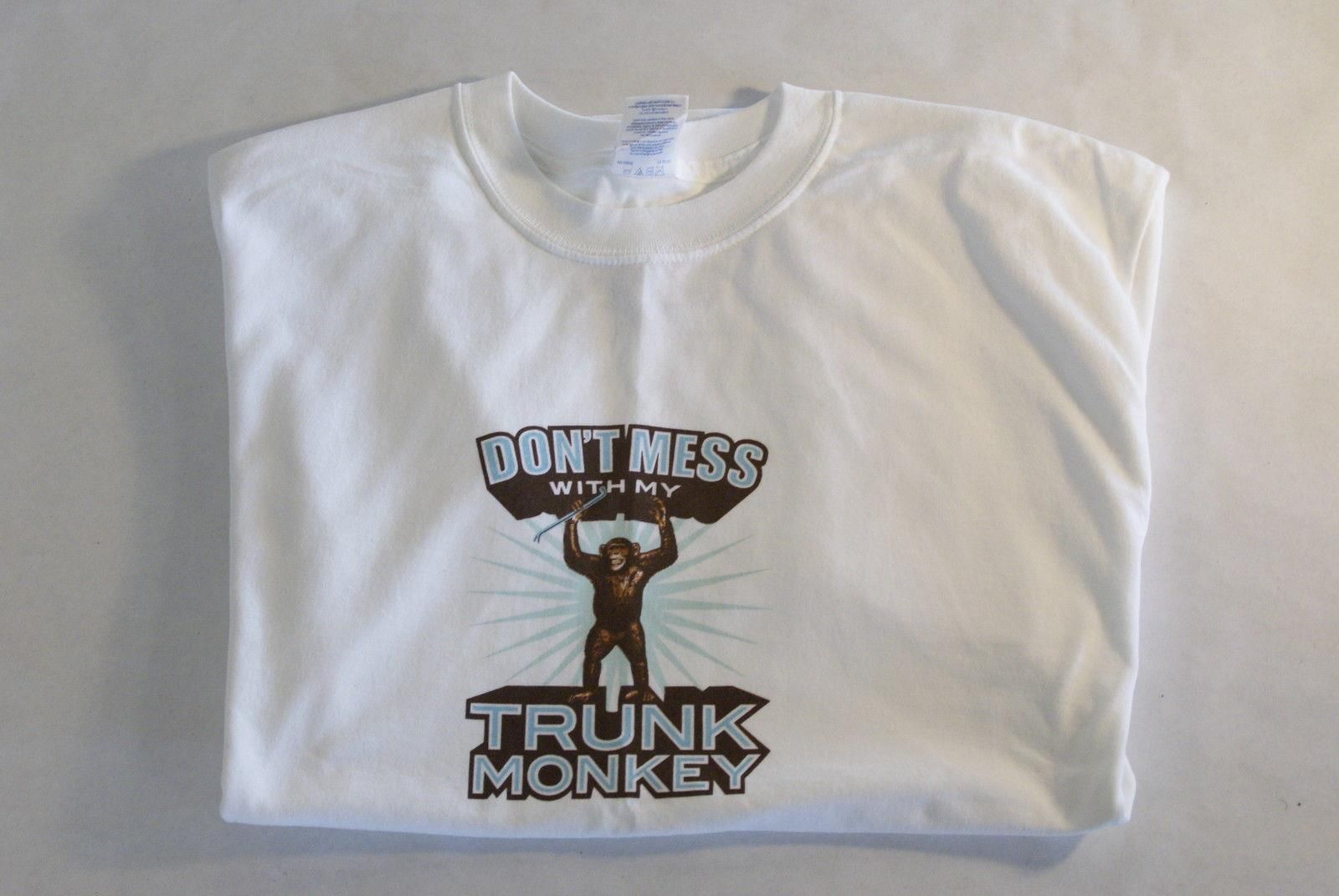 Trunk Monkey T-Shirt - White - GM (WHITE-SHIRT)