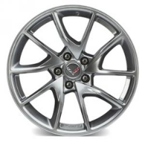 20x12 Inch Rear Wheel (5Z8) - Nickel Pearl Painted (Z06 Only) - GM (23319266)