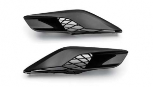Corvette Z06 Quarter Panel Vents Carbon Flash - GM (23373152)