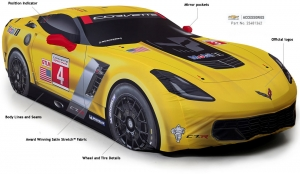 2016 CHEVROLET C7 CORVETTE C7-R Z06 INDOOR CAR COVER