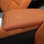 Stingray Logo Floor Console Lid Armrest, Kalahari, Napa Leather (Trim codes - 345, 346, 34I) - GM (23296483)