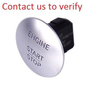 Genuine Mercedes-Benz Keyless Go Ignition Pressure Button