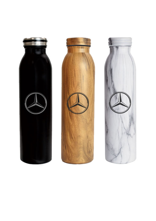 Genuine Vacuum Insulated Water Bottle  Brown  Mhd