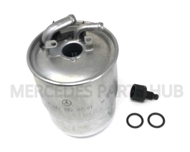 genuine mercedes-benz топливный фильтр 642-092-01-01 | ebay  ebay