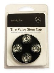Tire Valve Stem Caps - Silver
