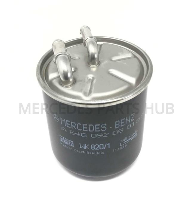 mercedes benz fuel filter 646 092 05 01 mb parts hub. Black Bedroom Furniture Sets. Home Design Ideas