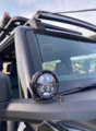 2021 BRONCO MIRROR MOUNTED OFF-ROAD LIGHTS - FORD PERFORMANCE (M-15200K-BML)