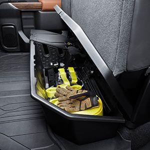 Cargo, Under-Seat Storage Organizer (Crew Cab) - GM (84734683)