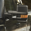 MIRROR KIT BLACK (REQUIRES NEW DOOR HARNESSES) (does not power fold) (INCLUDES LEFT & RIGHT MIRROR) - GM (23372182)