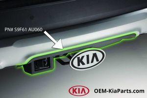 Tow Hitch Bumper Cover (TELLURIDE) - Kia (S9F61-AU060)
