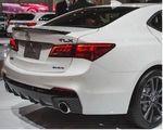 Aspec Rear Lip Spoiler - Acura (71700-TZ3-A11)