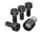Rim Locks - M14 X 1.5 X 27 - Black