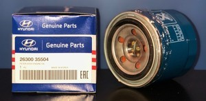 Engine Oil Filter - Hyundai (26300-35505)