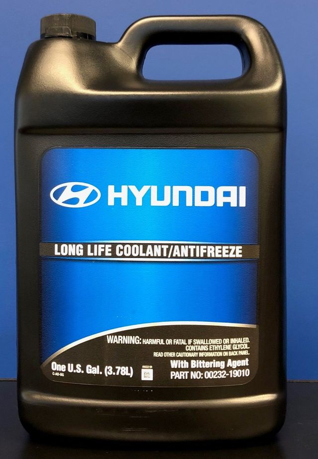 Coolant Anti-Freeze 1 Gallon - Hyundai (00232-19010)