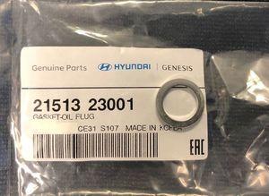 Drain Plug Gasket - Hyundai (21513-23001)