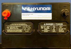 Vehicle Battery - Hyundai (00275-16001)