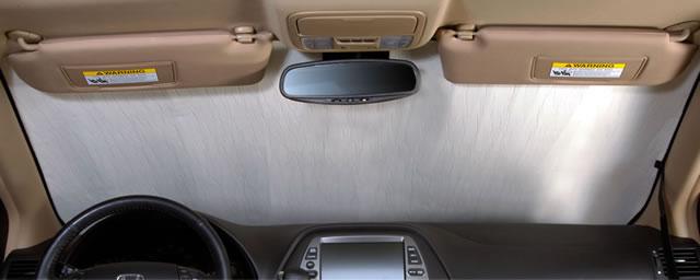 Honda Accord Sedan (2013 - 2015) Custom Auto Shade with Rearview Mirror Sensor - Custom (HD86A)