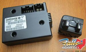 2016-2019 RAM 1500(DS) 2500 3500 Integrated Trailer Brake Controller MOPAR OEM - Mopar (82215040AC)
