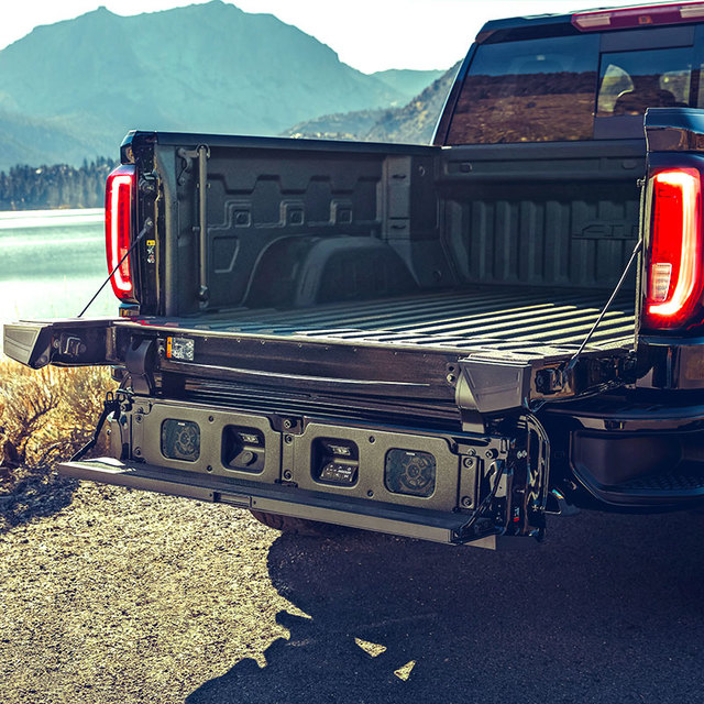 2019 2020 Gmc Sierra 1500 Multipro Tailgate Audio By Kicker 19417163 Gmpw