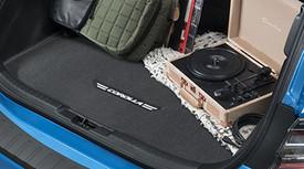 2019 Corolla Hatchback Carpet Cargo Mat - Black - Toyota (PT956-12195-02)