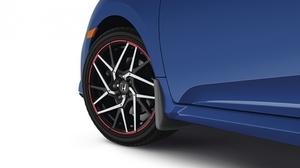 2017-2018 Civic Sedan Splash Guards (Si Models; 4 Piece Set) - Honda (08p00tbf100)