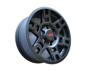 TRD 17-In Alloy Wheel - Matte Black - Toyota (PTR20-35110-BK)