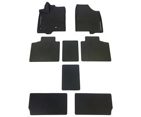 2013-2020 Sienna All-Weather Floor Liners - Black (8 Piece Set) - Toyota (PT908-08170-02)