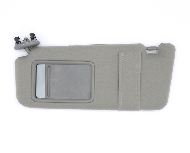 74320-06780-B0 TCK TECH Sun Visor for 2007 2008 20009 2010 2011 Toyota Camry Gray Drivers Side Left Without Sunroof