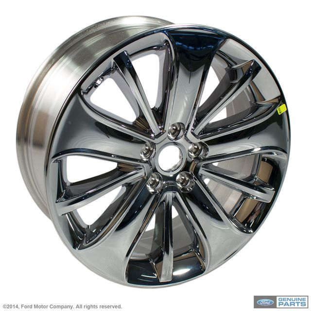 Wheel, Alloy - Ford (BG1Z-1007-C)