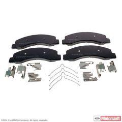 Disc Brake Pad Set - Ford (YU2Z-2V001-BA)
