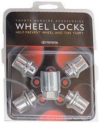 Genuine Toyota Aluminium/Alloy Wheel Lock Set (short) - Toyota (00276-00900)