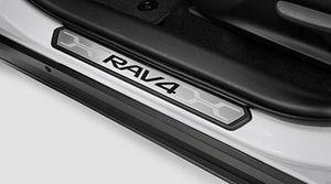 Genuine Toyota 2019 RAV4 Door Sill Guards/Protectors - Toyota (PK382-42K01)