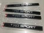 Genuine Toyota Sequoia TRD SPORT Door Sill Protectors/Guards - Toyota (PT948-0C180)