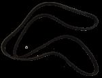 Belt, Alternator (Bando) - Honda (31110-R1A-A21)