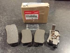 Pad Set, Rear - Honda (43022-T0G-A01)