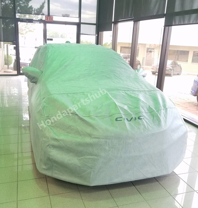 Genuine 2017 18 Honda Civic Type R Gray Car Cover/W Storage Bag  08P34 TGH 100