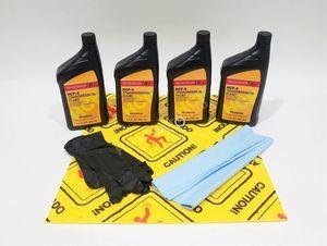 Honda Genuine HCF-2 Transmission Fluid Change Kit, 4 U.S.Qt/946ml w/Drain Plug Washer - Honda (PKHCF)