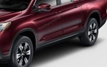 Genuine 2017-2018 Honda Ridgeline COPPERHEAD RED PEARL Body Side Molding 08P05-T6Z-170 R561P