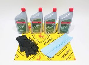 Honda Genuine ATF DW-1 Transmission Fluid Change Kit, 4 U.S.Qt/946ml w/Drain Plug Washer - Honda (PKATF)