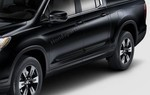 Genuine 2017-2018 Honda Ridgeline CRYSTAL BLACK PEARL Body Side Molding 08P05-T6Z-130 NH731P